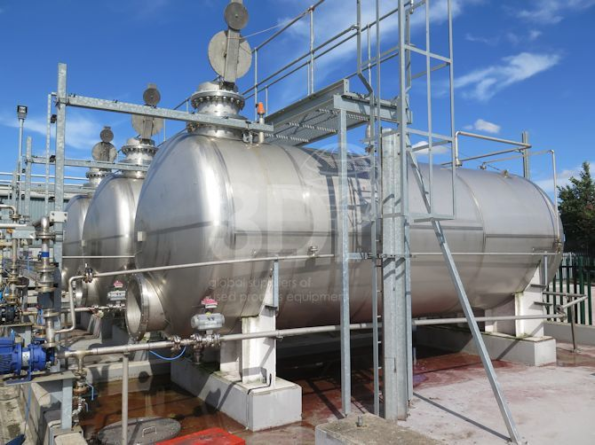 main image of 30000 litre stainless steel storage tank #2444j