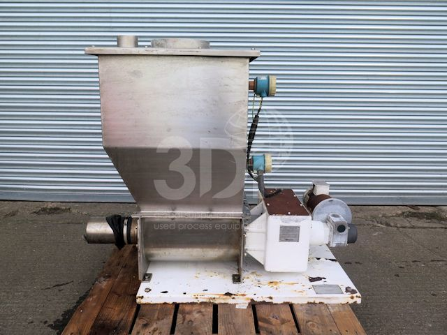image of acrison volumetric feeder a1-150-2-10 stock 2512a