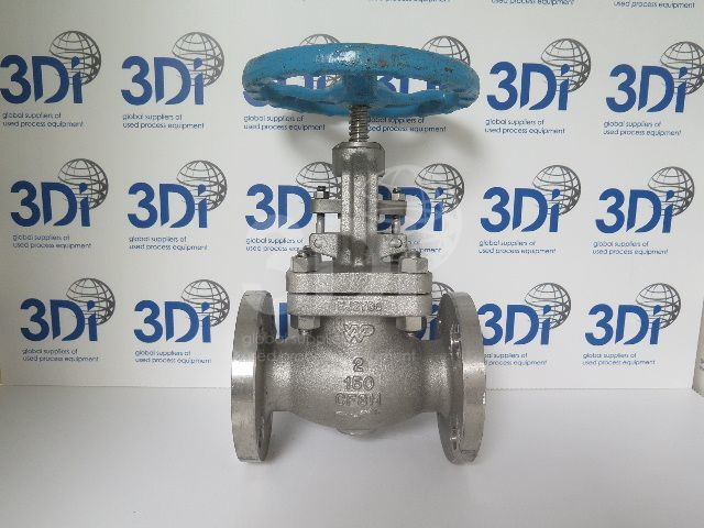 main image of a walthon weir pacific globe valve stock 2518a