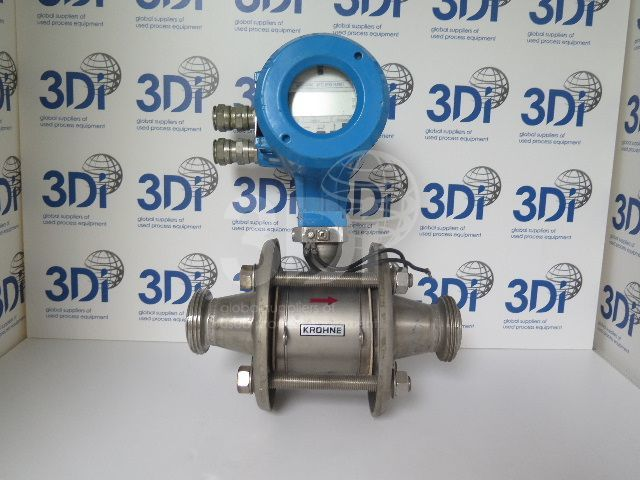 image of a krohne electromagentic flowmeter stock 1460a