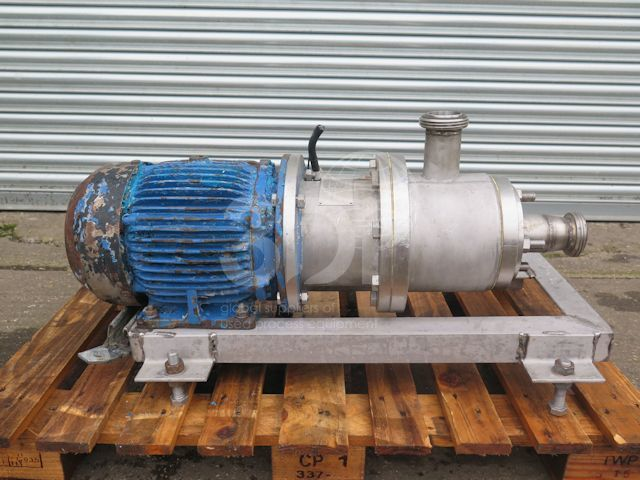 image of a greaves inline high shear mixer plm-2x5 stock 2525a