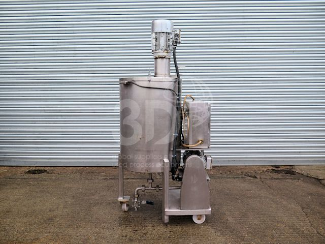 main image of a 130 litre high shear mixing vessel #2532a