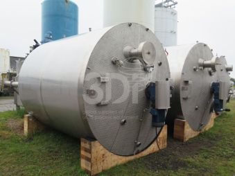 image of 18000 litre jacketed mixing vessel #2438