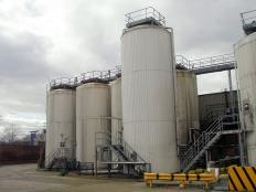 Bright Beer Storage Tanks