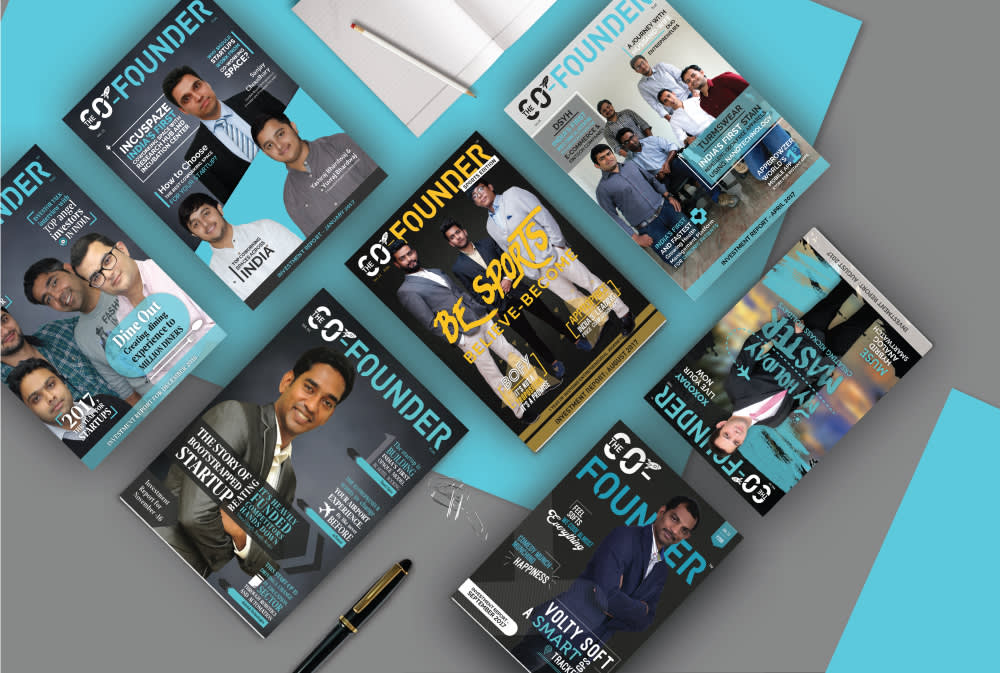 Co Founder Magazine Digital Graphics