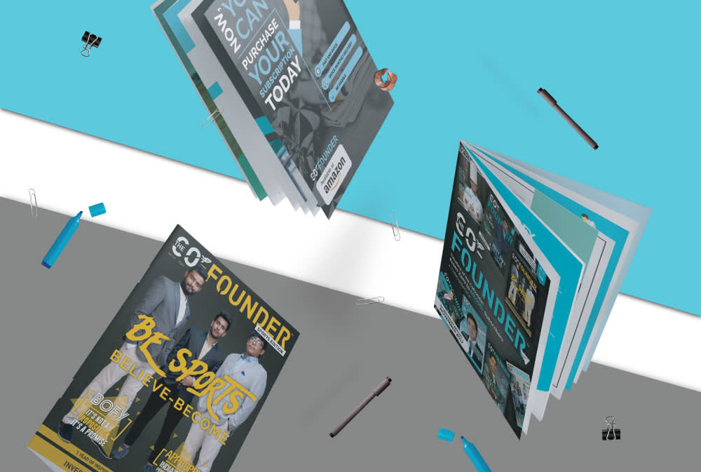 Co Founder Magazines Graphics