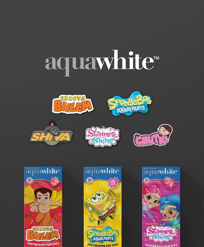 Aquawhite Header