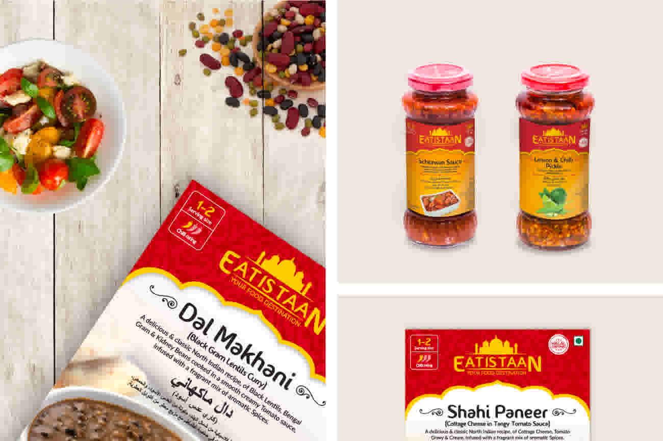 Eatistaan - Packaging Design