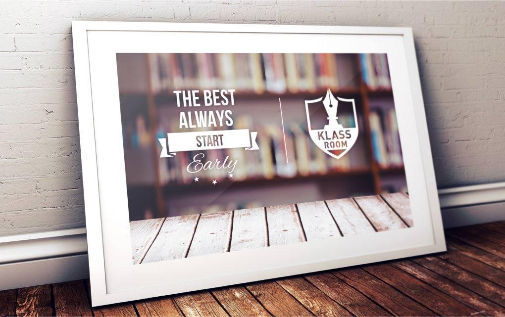 Klassroom Mockup Design
