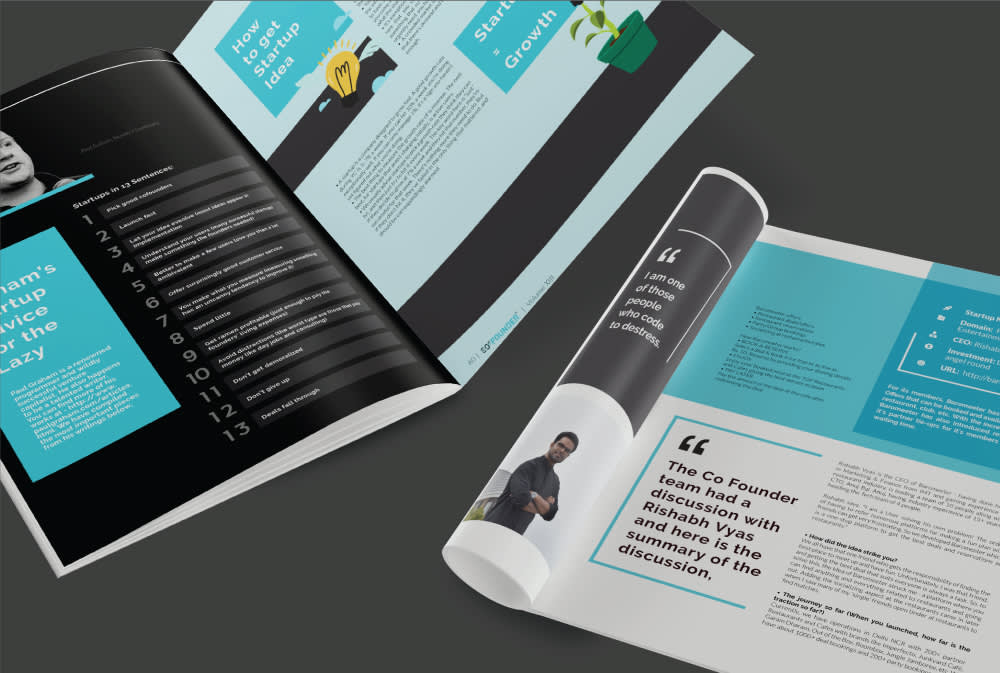 Co Founder Magazine Mockup