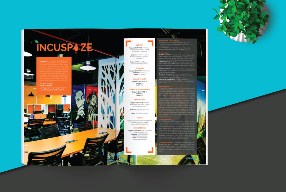 Incuspaze On Magazine