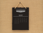 May calendar image for This Month in Marketing
