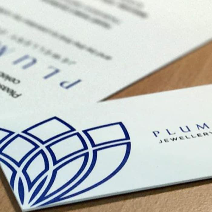 Plumery Letterpress Stationery