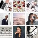 Screenshot of Oscar Wylee's Instagram feed