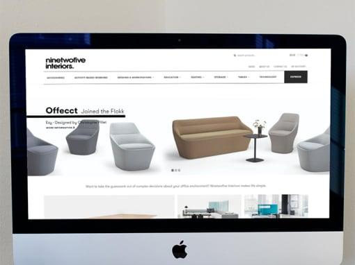 Nine to Five Interiors Website