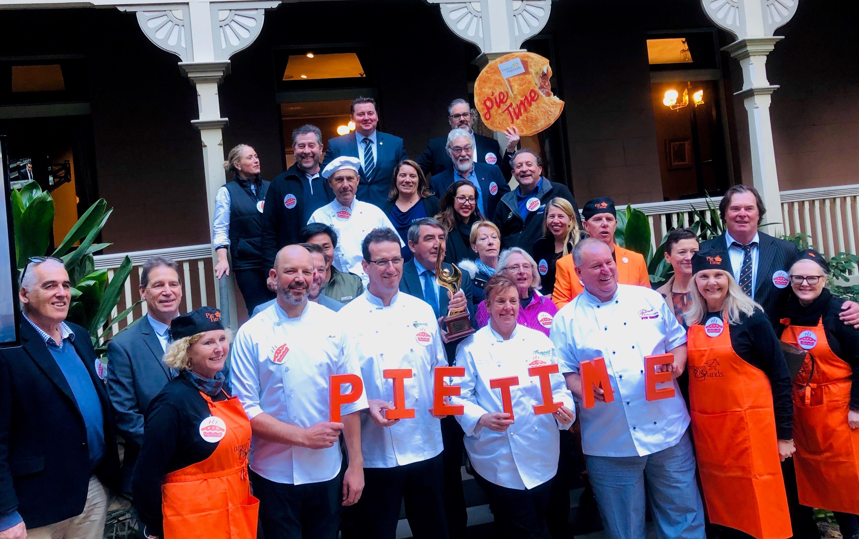 Pie-Partisan Launch Sydney