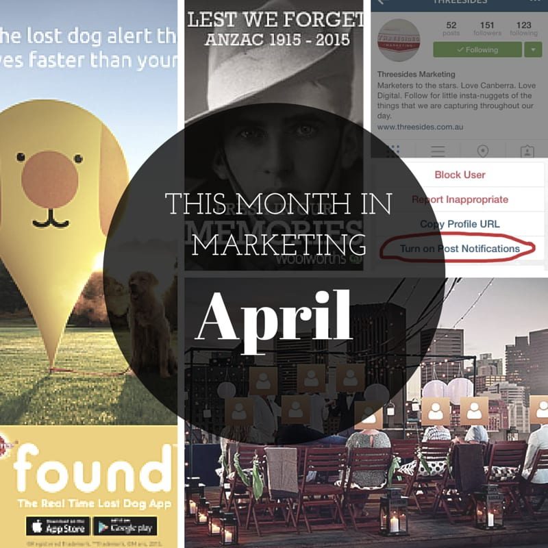 This Month in Marketing: April 2015