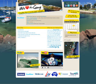 We love the Gong – takes the Gong at the 2010 South Coast Tourism Awards