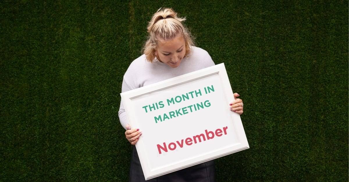 This Month in Marketing: November 2019