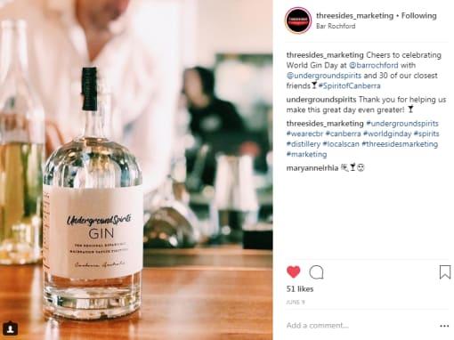 Content marketing instagram Canberra