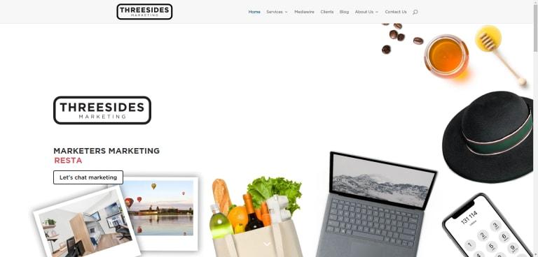 Threesides' Website