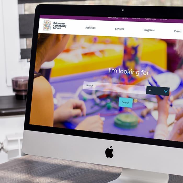 Belconnen Community Service Website