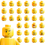 lego faces dipicting various workplace emotions