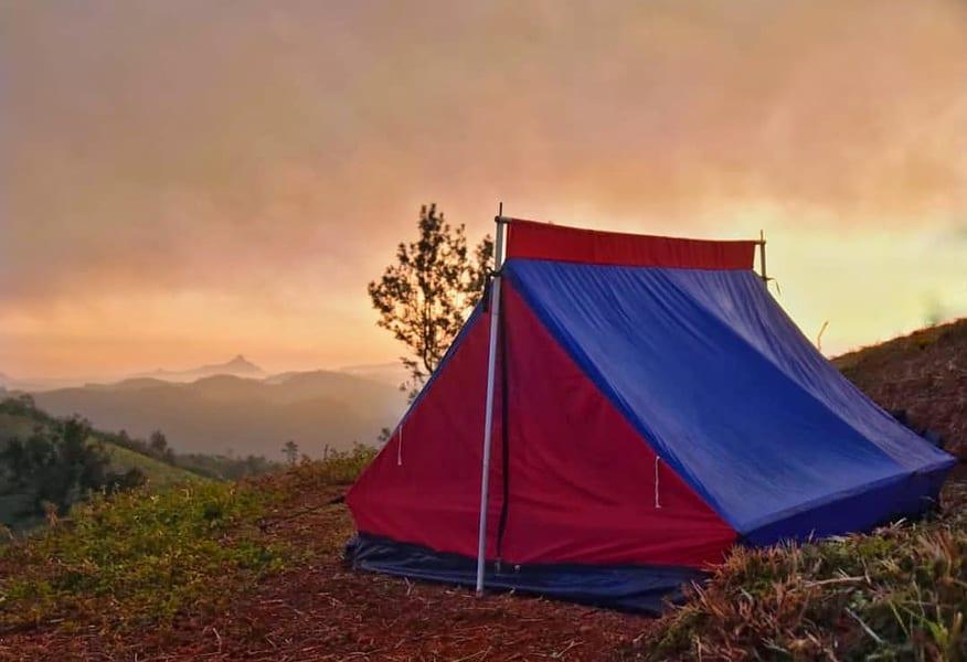 Camping In Tea Gardens Of Wayanad Image
