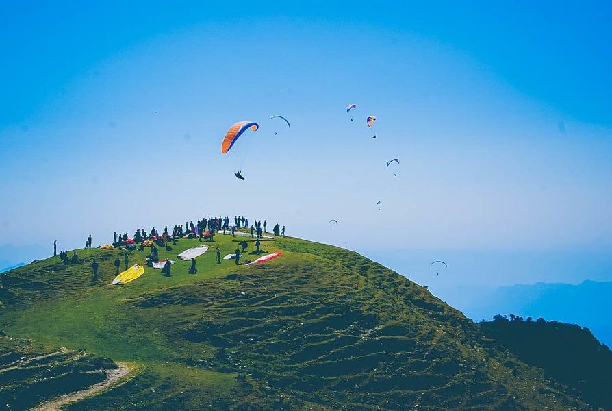 Paragliding In Bir Billing Image