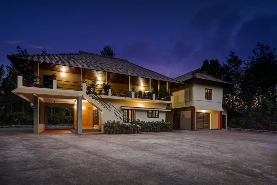Private Farmhouse Cottages In Coffee Estate Image