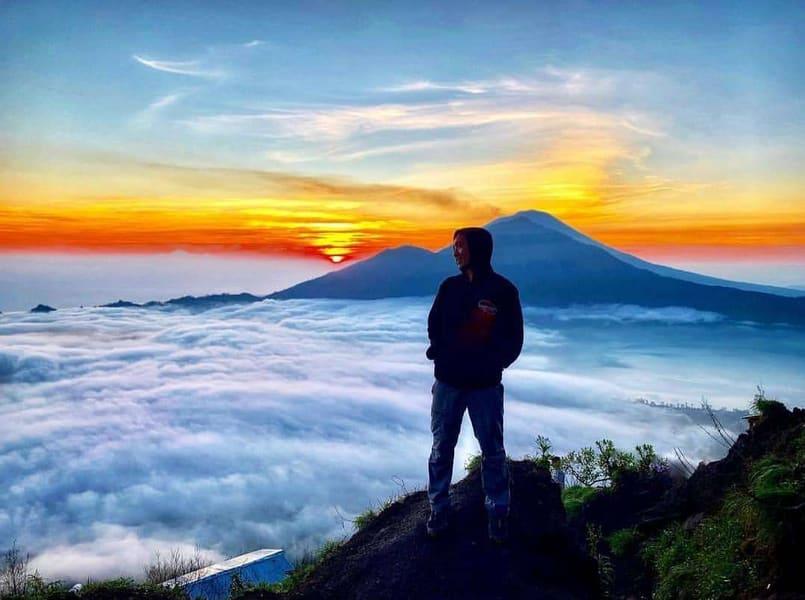 Mount Batur Trekking With Ayung River Rafting Image
