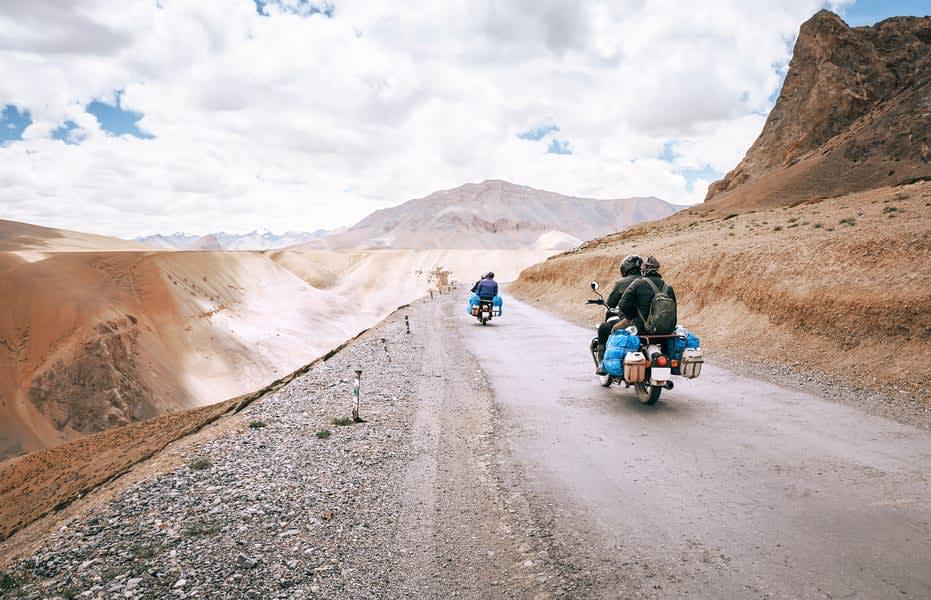 Manali Leh Manali Bike Trip Image