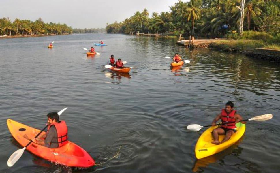 Kayaking In Chennai Image