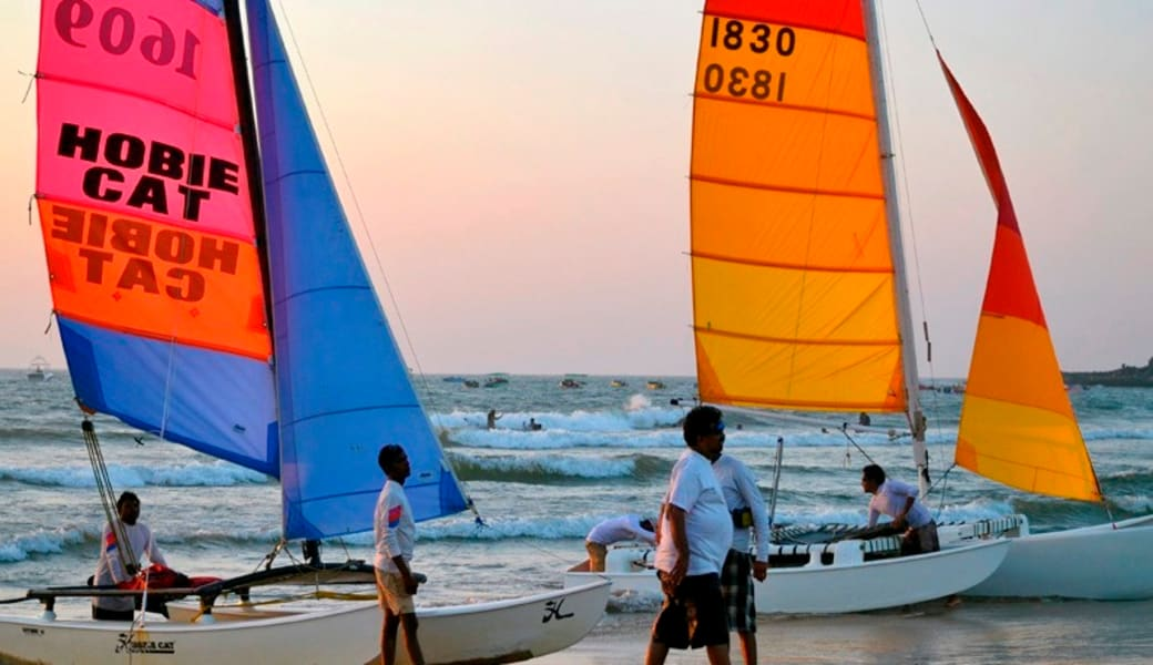 Catamaran Cruise Goa Image