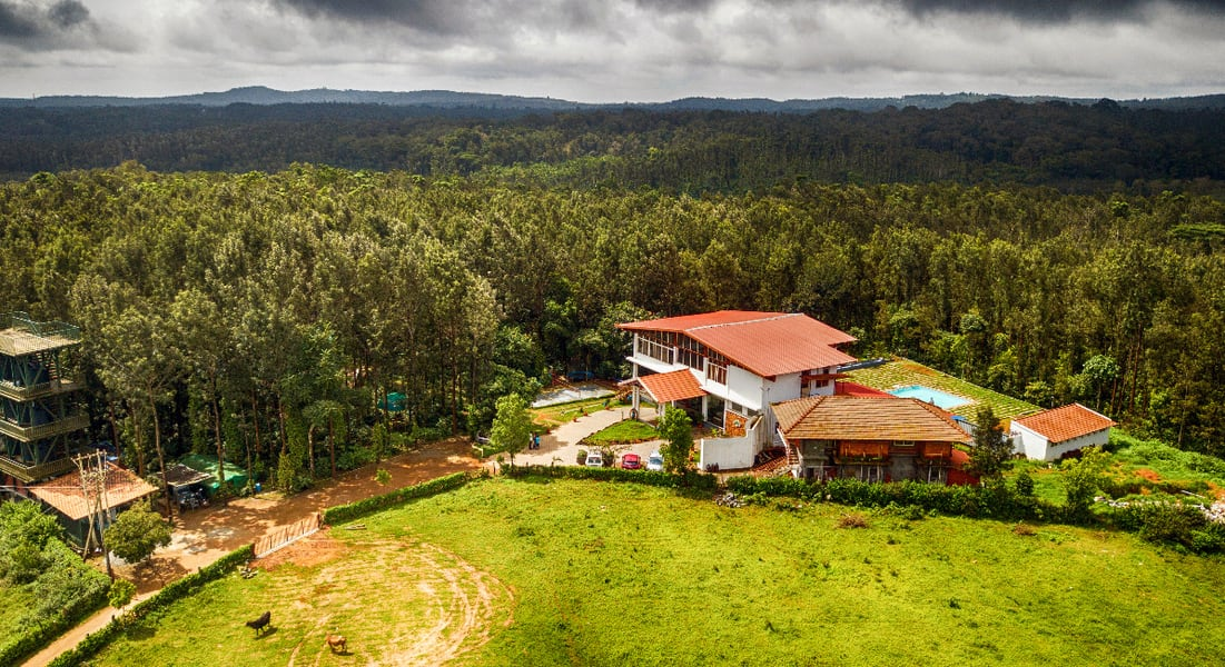 A Scenic Getaway Amidst Lush Green Valleys in Chikmagalur Image