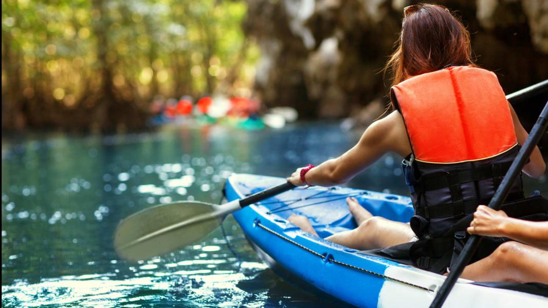 Kayaking In Mysore Image