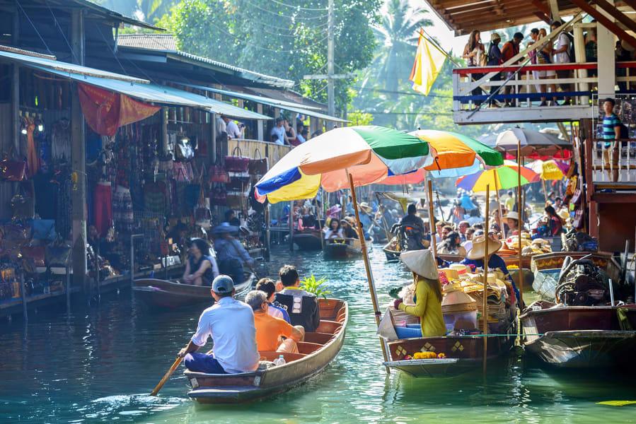 Bangkok Floating Market Tour Image