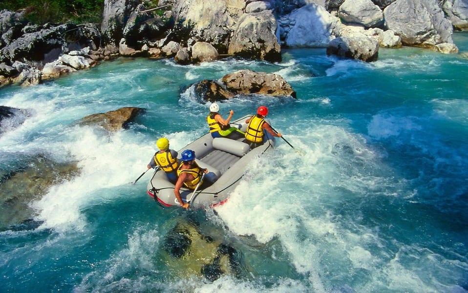Dandeli River Rafting Image