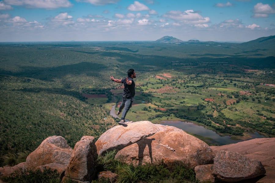 Makalidurga Trek Image