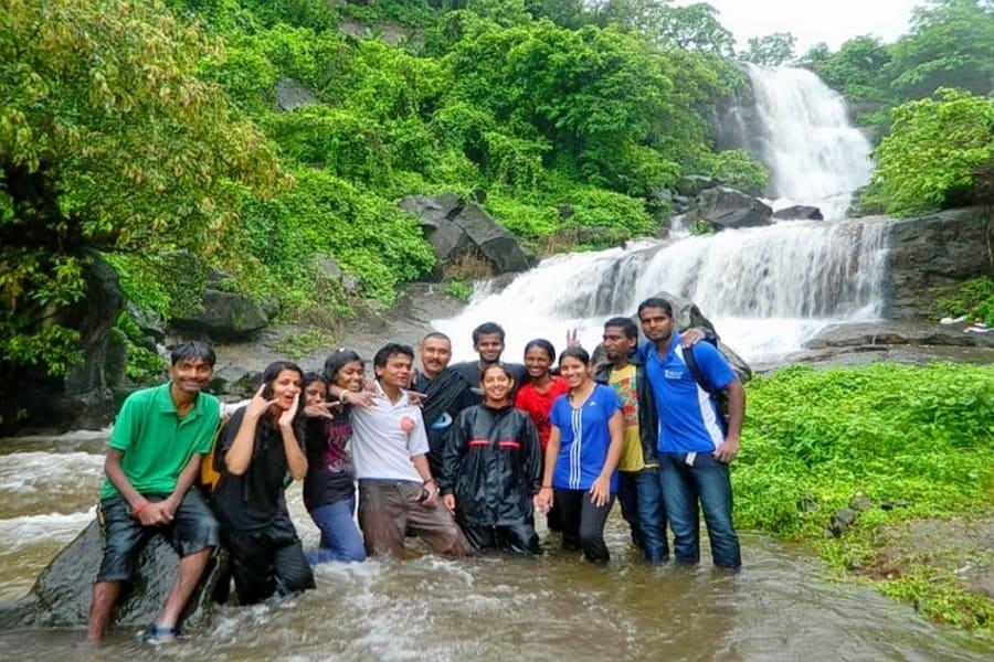 Bhivpuri Waterfall Rappelling Image