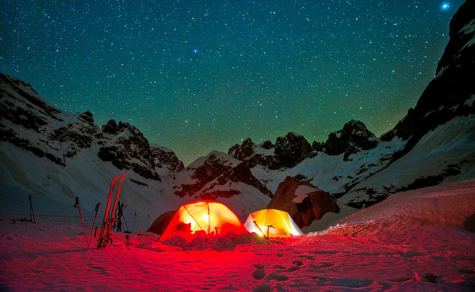 Camping in Auli Image