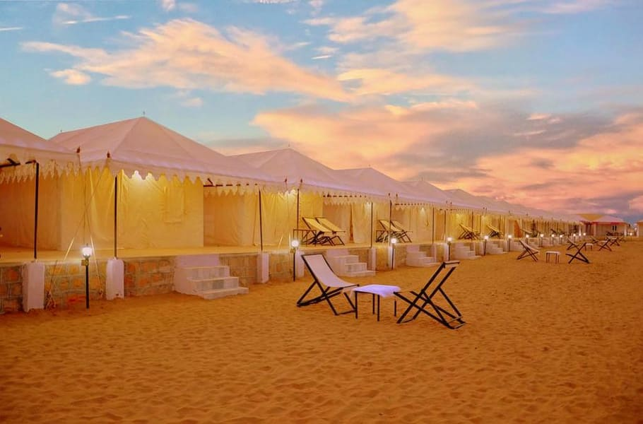 Camping In Jaisalmer With Desert Safari Image