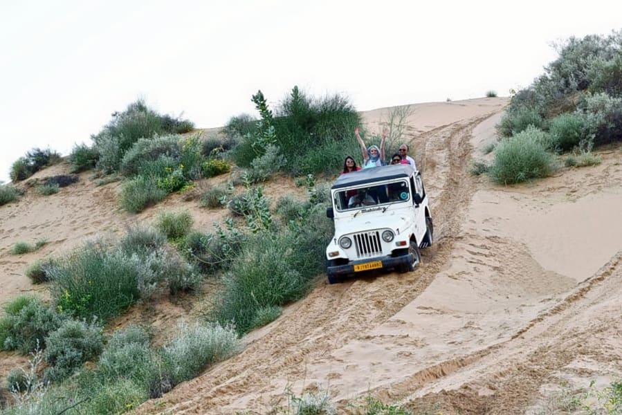 Osian Desert Jeep Safari Image