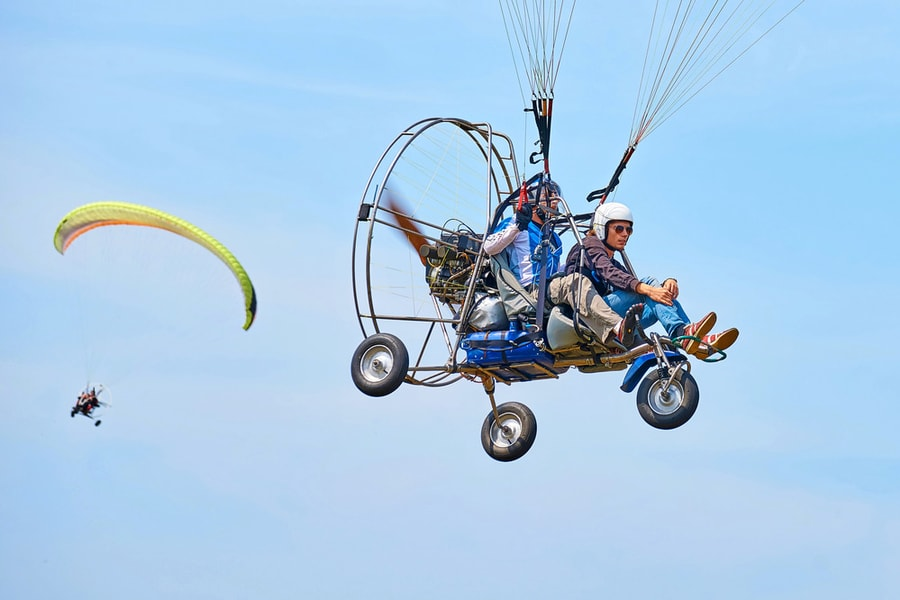 Powered Paragliding In Nandi Hills Image