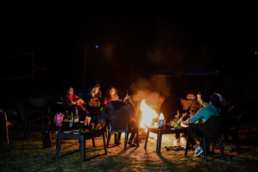 Camping In Rishikesh With Rafting Image