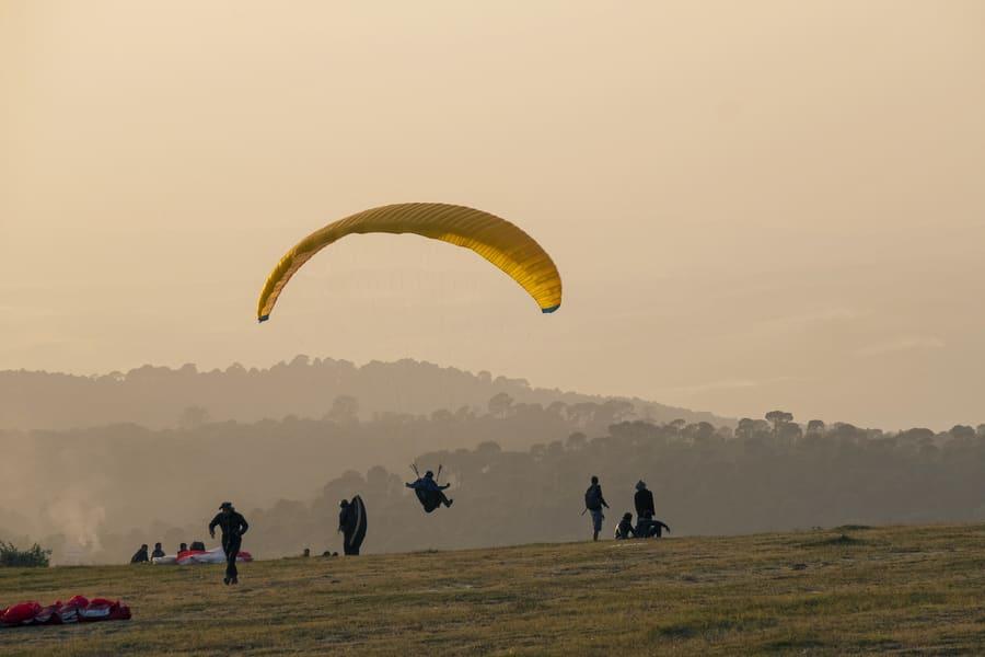 Paragliding in Dehradun Image