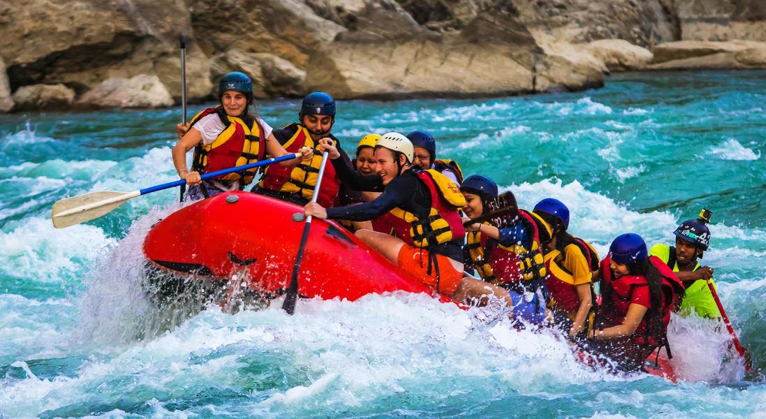 Rafting in Rishikesh Image