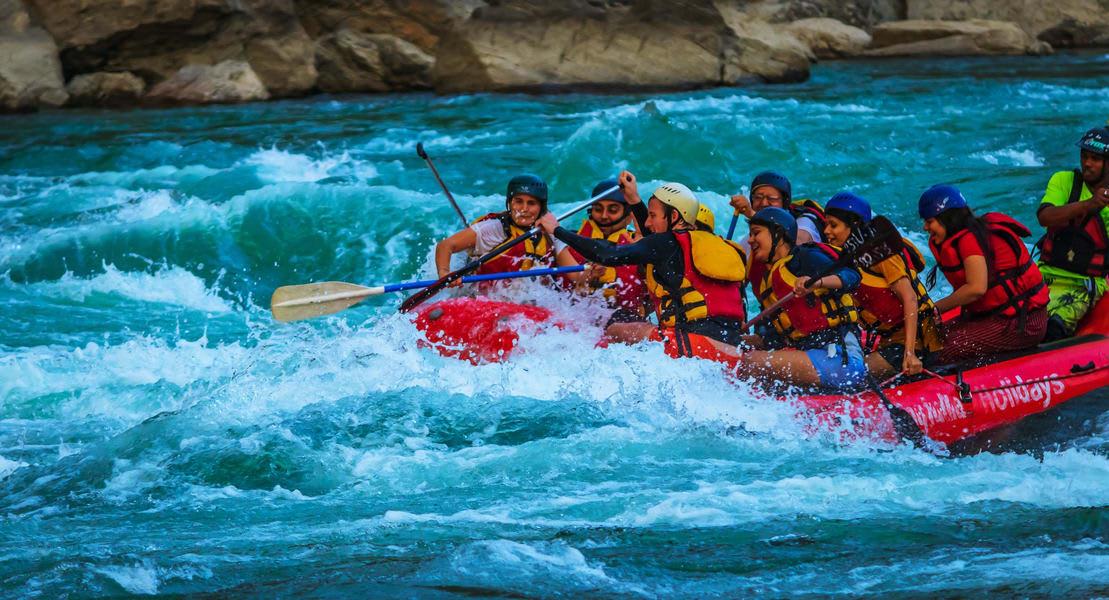 Rafting In Kolad Image