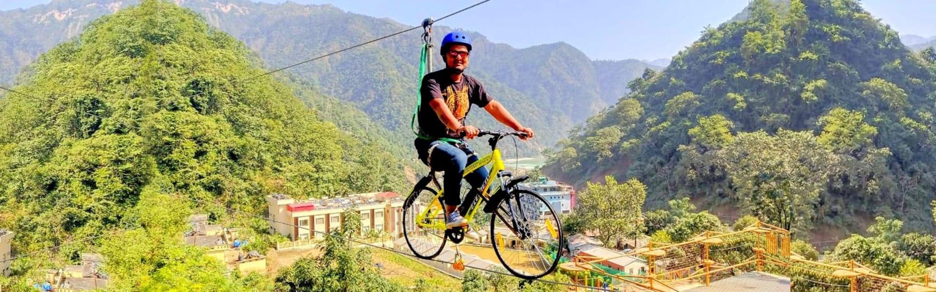 Sky Cycling in Rishikesh Image