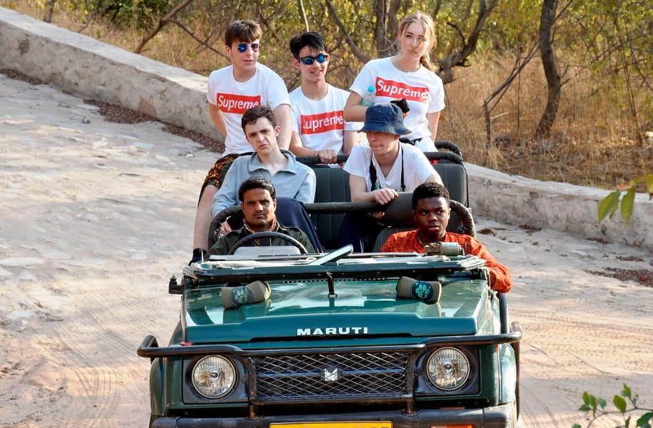 Jhalana Safari Image